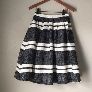 Lulu's | stripped midi skirt